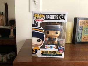 Aaron Rodgers Green Bay Packers NFL Funko POP! Figure Toys R Us New Read for Sale in Lehighton, PA