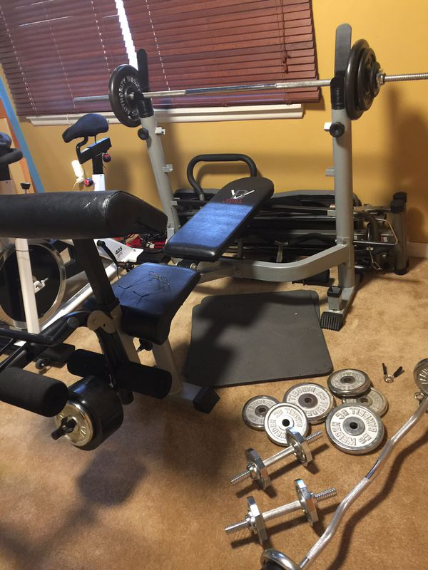 Body vision bench and accessories