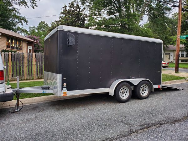 Wells cargo (14x7x7 utility enclosed trailer,)
