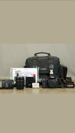 Canon EOS Rebel t5i Bundle w/ LENSE, BAG, CHARGER, 1 BATTERY 430EX II FLASH for Sale in San Diego, CA
