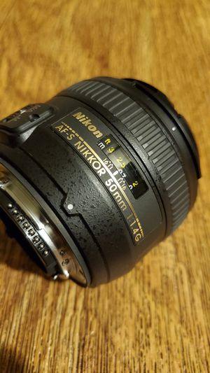 Nikon 50mm 1.4G AF-S for Sale in San Diego, CA