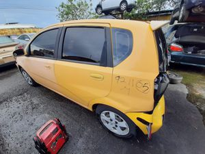 Chevy aveo 2005 only parts engine good for Sale in Miami Gardens, FL