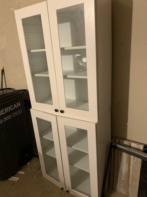 2 glass kitchen cabinets for Sale in Vienna, VA