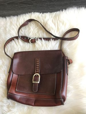 Small Leather messenger bag for Sale in La Habra Heights, CA