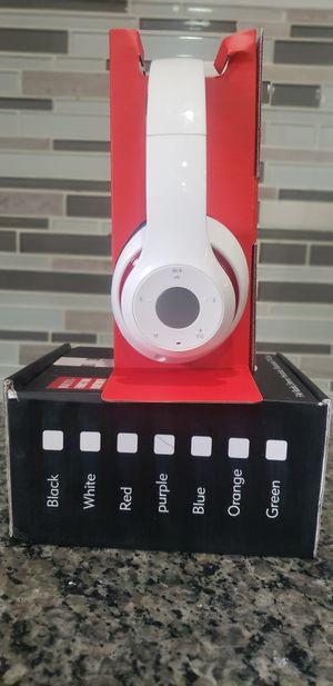 Brand New in Box Wireless High Quality Overhead Bluetooth Stereo Extra Bass Headset Headphones Like Beats for Sale in East Orange, NJ