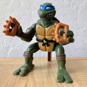 Vintage 1993 Teenage Mutant Ninja Turtles Somersault Samurai Leo Action Figure TMNT Collectable Toy for Sale in Elizabethtown, PA