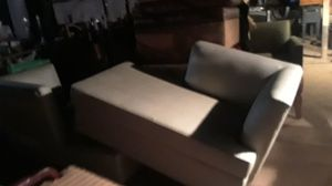 2 white leather end couches for Sale in Phoenix, AZ