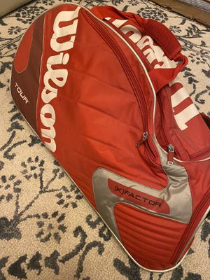 Wilson Tennis Racket Bag lightly used for Sale in Irvine, CA