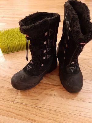The North Face HeatSeeker Waterproof Boots Women's Sz 6 Black Winter Snow 200 G for Sale in Westminster, CO