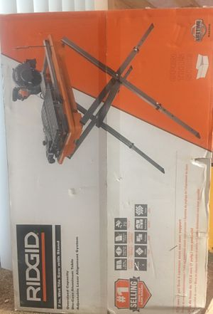Ridgid 7in Wet Tile Saw with Stand for Sale in Gresham, OR