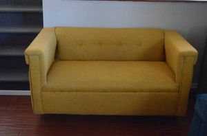 small cute yellow couch for Sale in Washington, DC