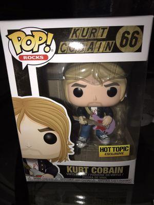 Kurt Cobain Hot Topic Exclusive POP! #66 for Sale in Norwalk, CA