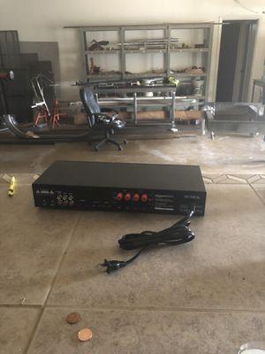 Amazon basics 2-channel class D digital power amplifier for Sale in Phoenix, AZ