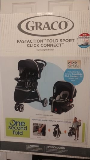 Graco light weight Stroller & infant car seat for Sale in Benton Harbor, MI