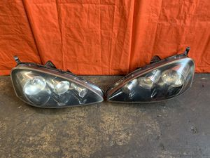 OEM - 2005 05 - ACURA - RSX TYPE S - DRIVER LEFT PASSENGER RIGHT HEADLIGHT HEADLAMP SET for Sale in Hialeah, FL