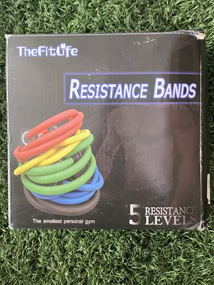 Resistance bands for Sale in Santa Ana, CA