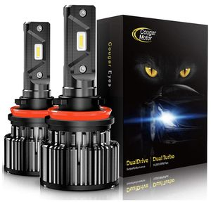 H11 (H8, H9) LED Headlight Bulbs -10000Lm 6000K Cool White CREE for Sale in San Jose, CA