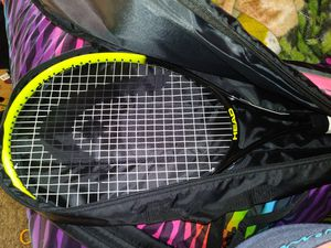 Tennis racket with bag carrier for Sale in Fresno, CA