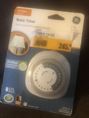 Home/Office 24 hour Programmable Timer for Sale in Decatur, GA