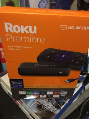 Roku Premiere 4K & HDR for Sale in Los Angeles, CA
