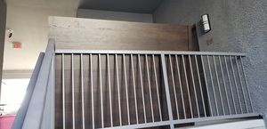 Bed frame for full or queen for Sale in Peoria, AZ