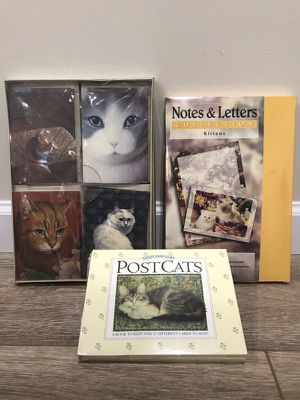 Collection of unopened Cat Themed Cards for Sale in Vienna, VA