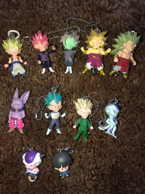 Dragonball Z figure keychains for Sale in Stockton, CA