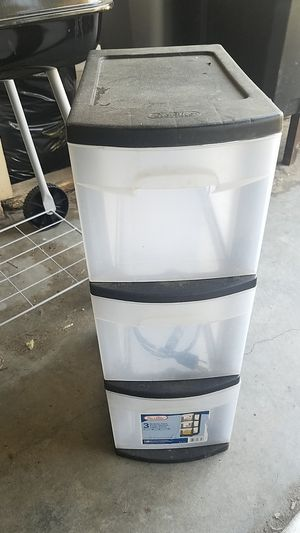 Plastic storage drawers for Sale in Fresno, CA