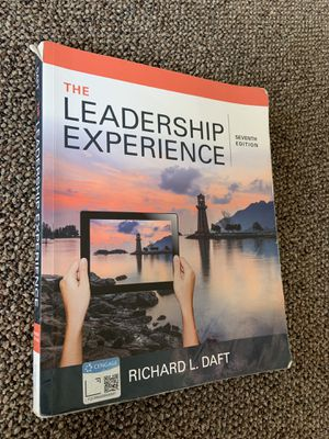 Leadership experience 7th edition for Sale in Vancouver, WA