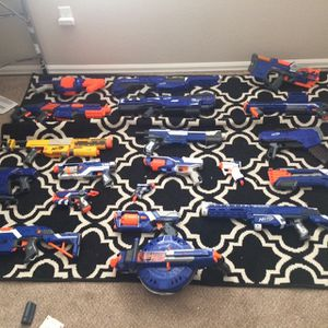 Nerf Guns With Mags And Accessories for Sale in Windsor, CO