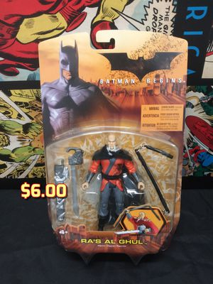 Batman Toy Action Figure Ra's Al Ghul from Batman Begins MOC for Sale in Alameda, CA