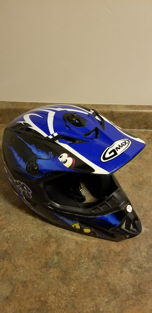 G-Max Racing Open Face Youth Large Helmet DOT ATV UTV Motorcycle Bike Snowmobile for Sale in Little Suamico, WI