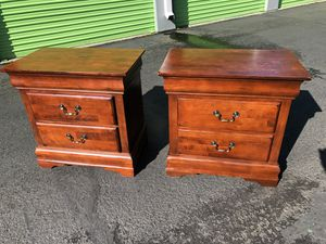 Nice Size Matching Nightstands for Sale in Vancouver, WA