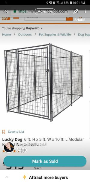 Dog kennel with cover for Sale in San Lorenzo, CA