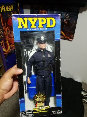 nypd action figure for Sale in Modesto, CA