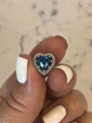 Brand New Sterling Silver 925 Gorgeous Heart Charm for Sale in Los Angeles, CA