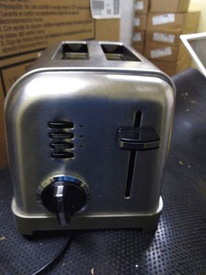 Stainless steel 2 slice toaster for Sale in Binghamton, NY