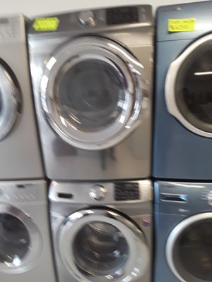 Samsung washers and dryer used good conditions 90 days warranty for Sale in Mount Rainier, MD