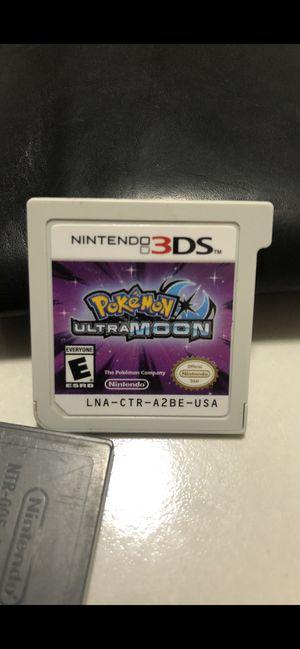 3ds Pokémon UltraMoon for Sale in ROXBURY CROSSING, MA