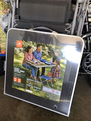 Picnic or camping table w chairs for Sale in Covina, CA