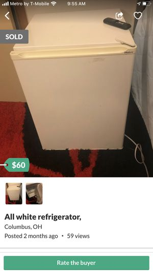 All white refrigerator for Sale in Columbus, OH