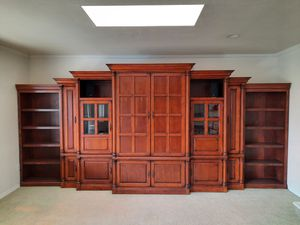 Cherry wood Entertainment Center for Sale in El Cajon, CA