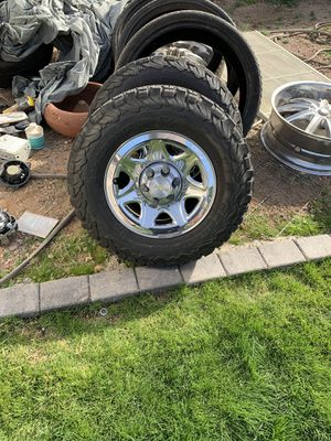Chevy wheels and tires for Sale in Payson, AZ