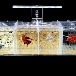 Aquarium LED Acrylic Betta Fish Tank Set Mini Desktop Light Water Pump Fil M8H0 for Sale in Alhambra, CA