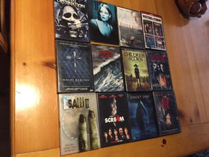 Horror movies. Excellent condition for Sale in Phoenix, AZ