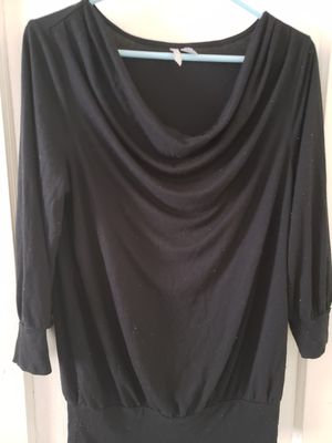 Old Navy women's black tunic size large for Sale in Philadelphia, PA