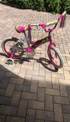 Barbie kids bike for Sale in Fort Lauderdale, FL