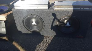 Memphis and jl audio for Sale in Fresno, CA