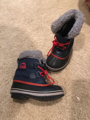 Sorel kids snow boots for Sale in Poway, CA