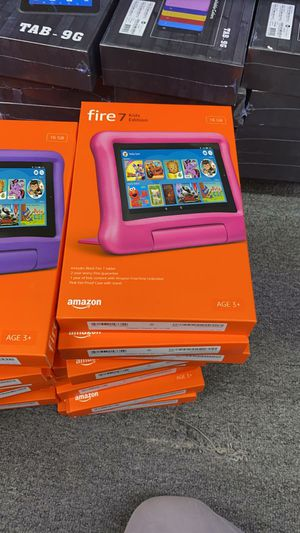 Amazon Fire 7 Kids Edition Tablet Brand new sealed with 1 year warranty for Sale in The Bronx, NY